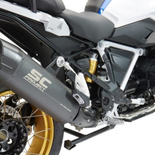 exhaust bmw r1250gs euro4 muffler new street legal road use. tuv approved euro4. best exhaust r1250gs bmw