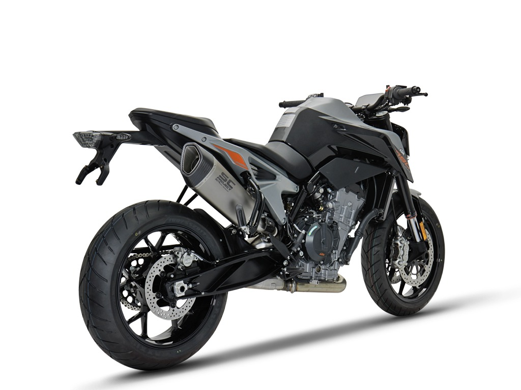 ktm 790 duke new slip on line. Black Bedroom Furniture Sets. Home Design Ideas