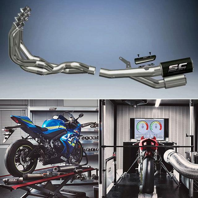 r&d exhaust system moto2 full exhaust Suzuki Ducati Triumph BMW Yamaha Kawasaki Honda KTM