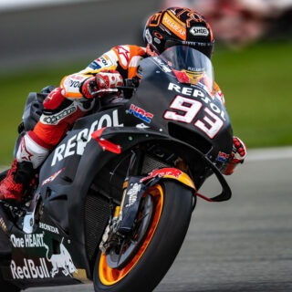 Honda HRC Repsol Marquez SC-Project Winter Test