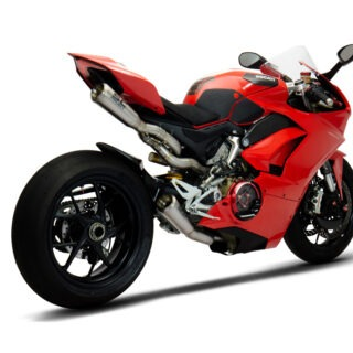 SC-Project 4-2-1 full exhuasy system Ducati Panigale V4 3/4 rear