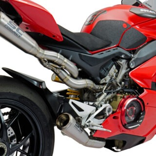 SC-Project 4-2-1 full exhuasy system Ducati Panigale V4 Detail