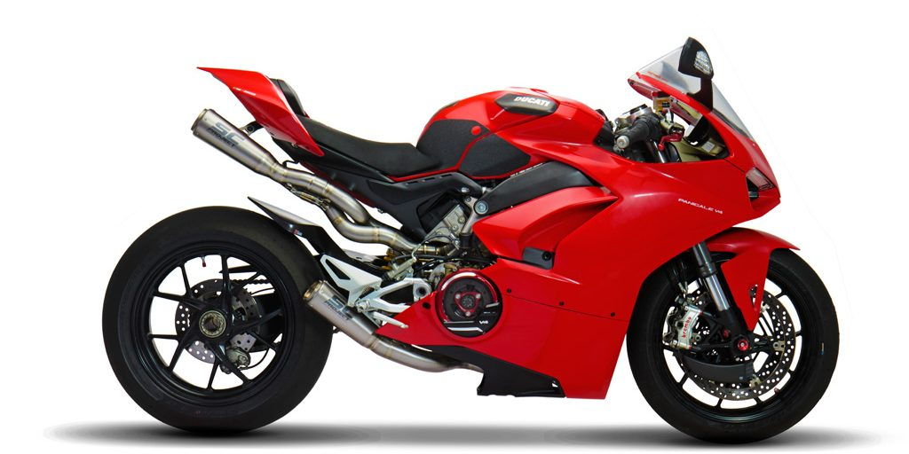 Ducati Panigale V4 Racing Full System Exhaust