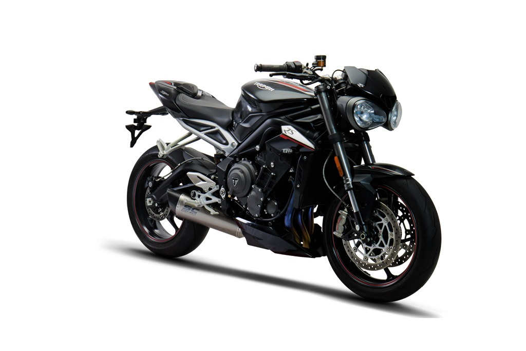 Triumph Street Triple 765 Full System Exhaust 3 1