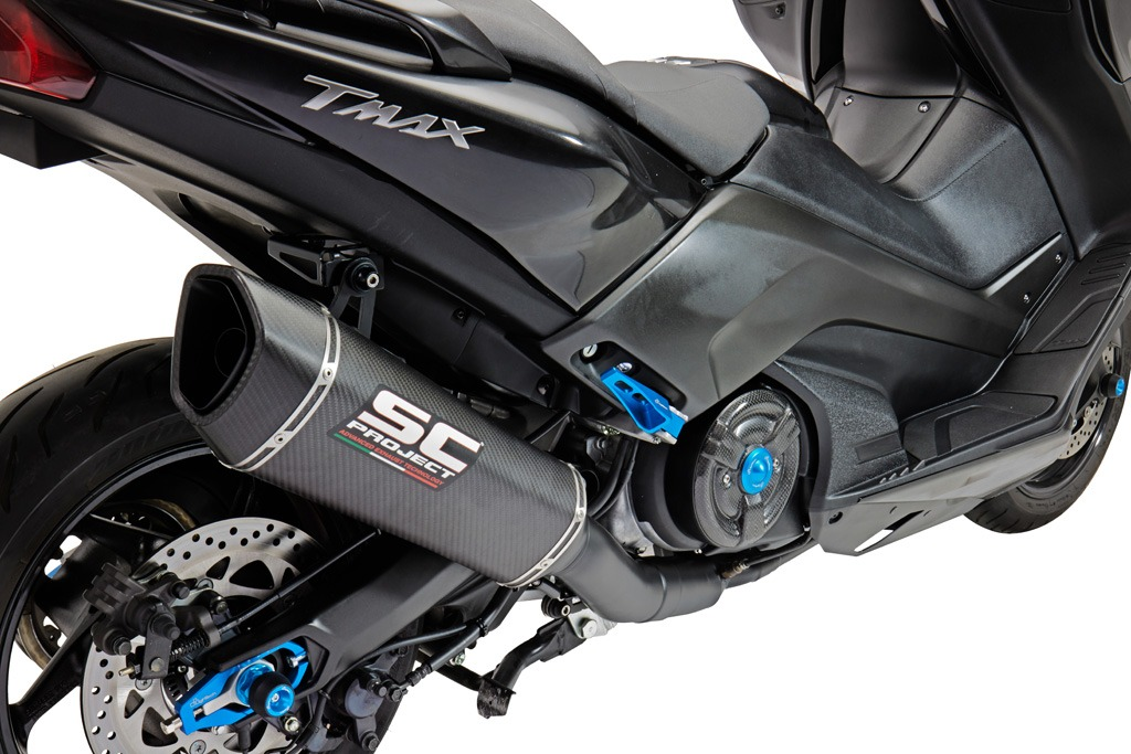 SC-Project Yamaha Tmax – Euro4 Type Approval