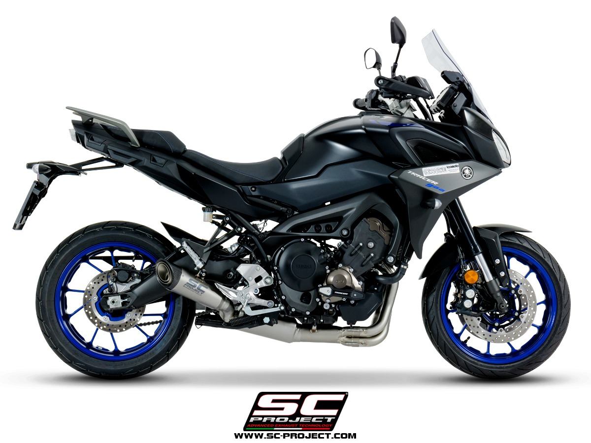 yamaha tracer 900 new full system exhaust euro4 type approval sc project. Black Bedroom Furniture Sets. Home Design Ideas