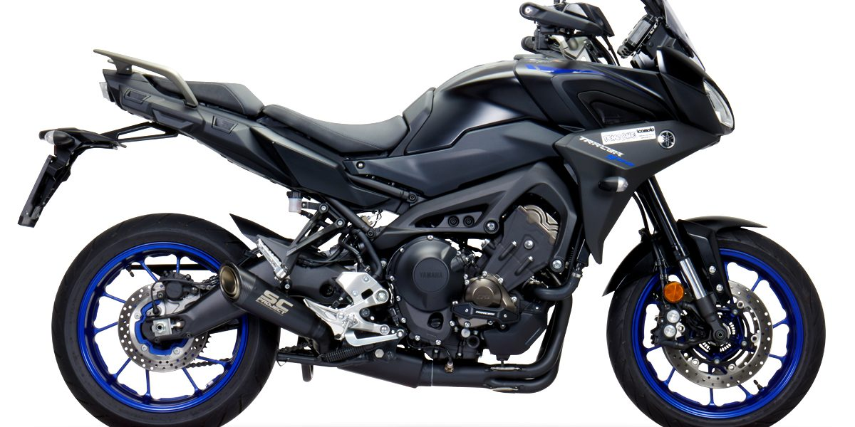 Yamaha Tracer 900 – New full system exhaust Euro4 type approval