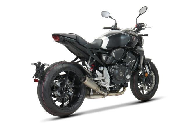 SC-Project S1-GP in titanio per Honda CB1000R
