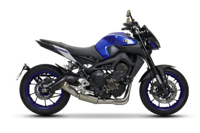 Completo Yamaha MT-09 Euro4 Silenziatore Conico 70's