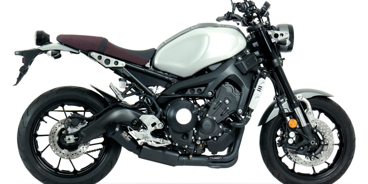 yamaha xsr900 new euro4 full system exhaust. Black Bedroom Furniture Sets. Home Design Ideas