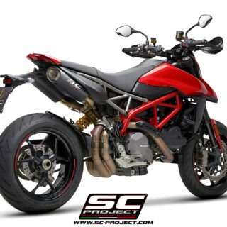 SC-Project Ducati Hypermotard 950 3/4 post - S1-Carbon