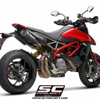 SC-Project Ducati Hypermotard 950 3/4 post - S1-Carbon