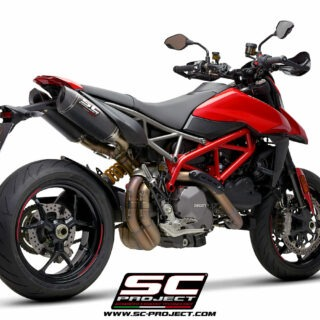 SC-Project Ducati Hypermotard 950 3/4 post - SC1-M Carbon