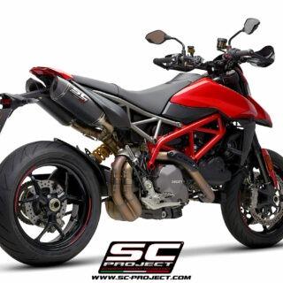 SC-Project Ducati Hypermotard 950 3/4 post - SC1-M Carbon