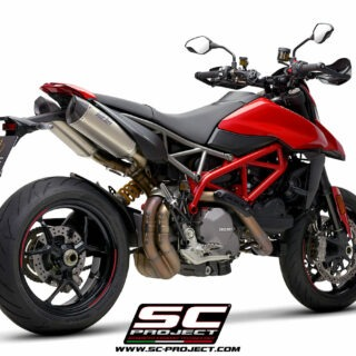 SC-Project Ducati Hypermotard 950 3/4 post - SC1-M Titanium