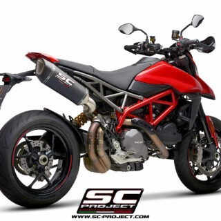 SC-Project Ducati Hypermotard 950 3/4 post - SC1-R Carbon