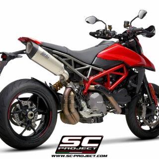 SC-Project Ducati Hypermotard 950 3/4 post - SC1-R Titanium
