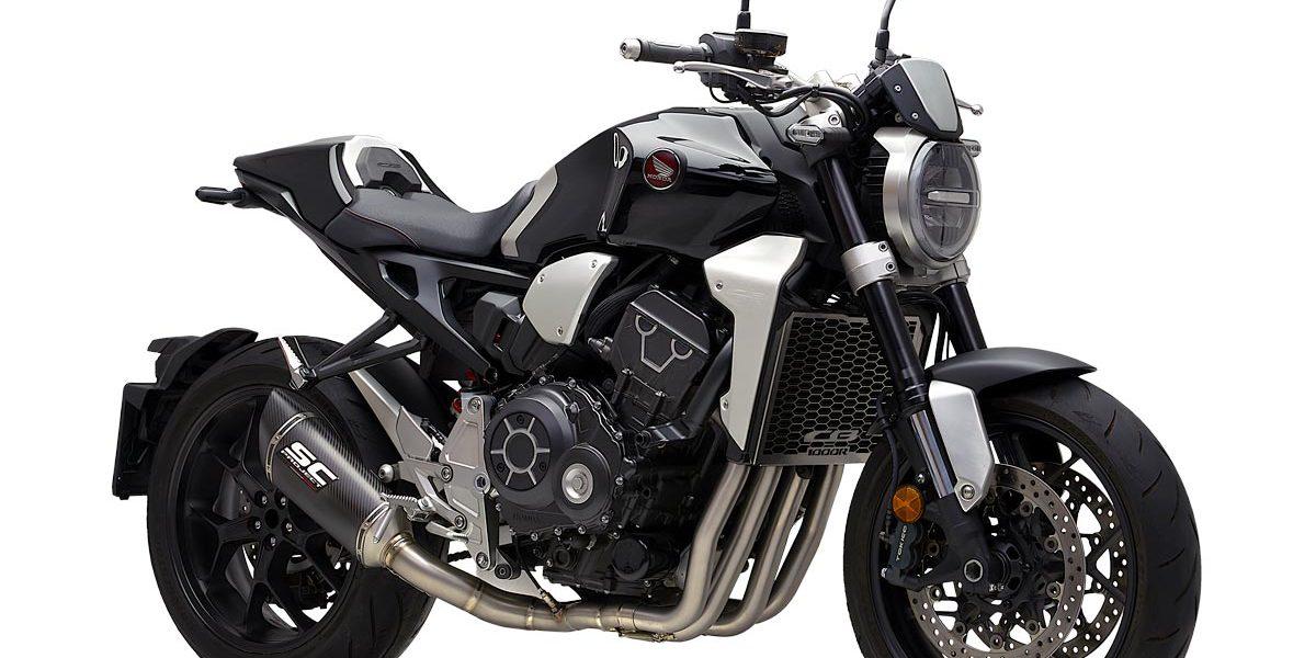 Honda Cb1000r Neo Sport Café Full Exhaust System Sc Project