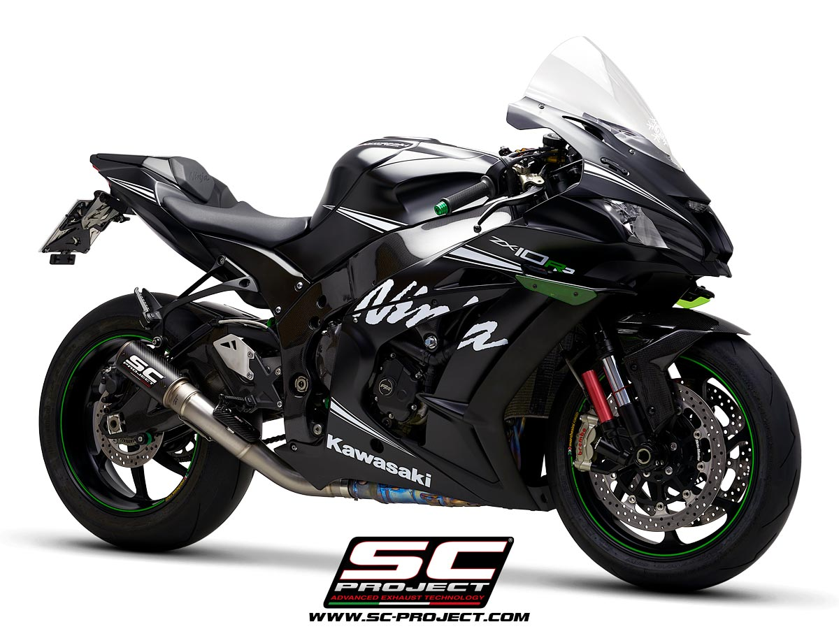 New Exhaust Range For Kawasaki Ninja Zx 10rr Sc Project