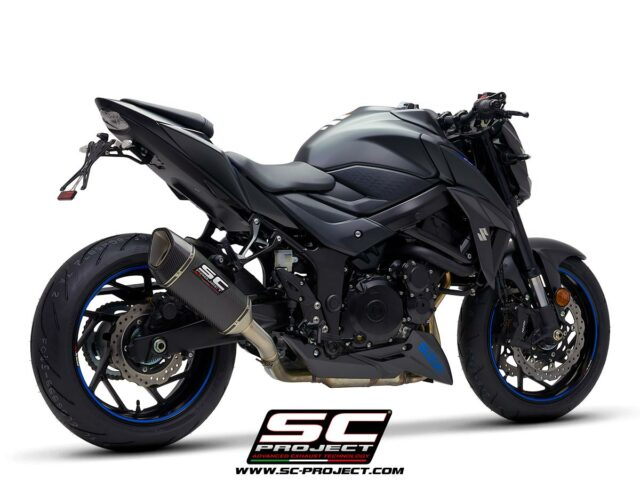 SC-Project Suzuki GSX-S 750 3/4 rear