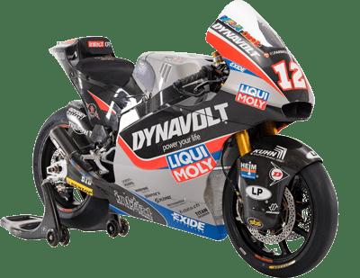 Dynavolt Intact GP 2019 Moto2 motorbike