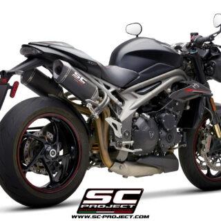 SC-Project Triumph Speed Triple 1050 S-RS SC1-M Carbon 3/4 Post