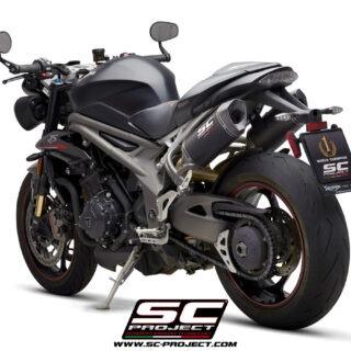 SC-Project Triumph Speed Triple 1050 S-RS SC1-M Carbon 3/4 Post SX
