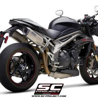 SC-Project Triumph Speed Triple 1050 S-RS SC1-M Titanium 3/4 Post