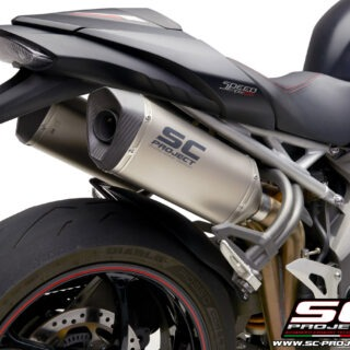 SC-Project Triumph Speed Triple 1050 S-RS SC1-M Titainium Detail