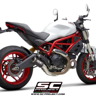 SC-Project Ducati Monster 797 - CR-T - 3-4Posteriore
