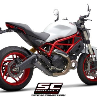 SC-Project - Ducati Monster 797 - Cono 70's - 3-4Posteriore