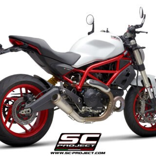 SC-Project Ducati Monster 797 - S1-GP - 3-4Posteriore
