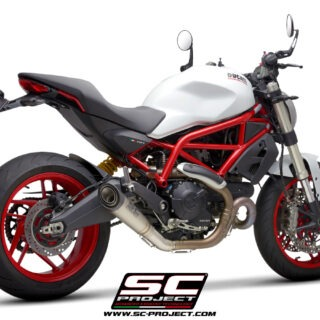 SC-Project Ducati Monster 797 - S1 - 3-4Posteriore