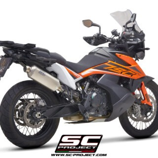 SC-Project Rally Raid Exhaust KTM 790 Adventure 3/4rear