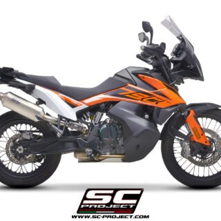 SC-Project Rally Raid Exhaust KTM 790 Adventure side