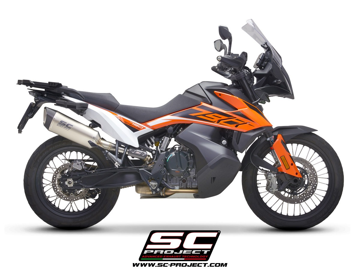 Sc Project New Exhaust Range For Ktm 790 Adventure