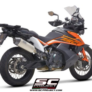 SC-Project X-Plorer Exhaust KTM 790 Adventure 3/4rear