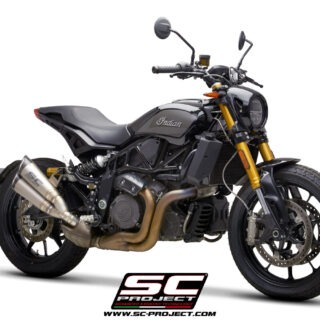 SC-Project - Indian FTR 1200 Twin S1 3/4front