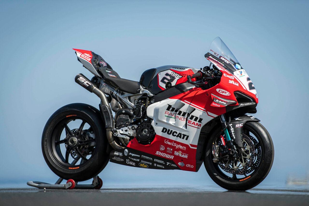 Barni Racing Team Ducati V4R CR-T 2