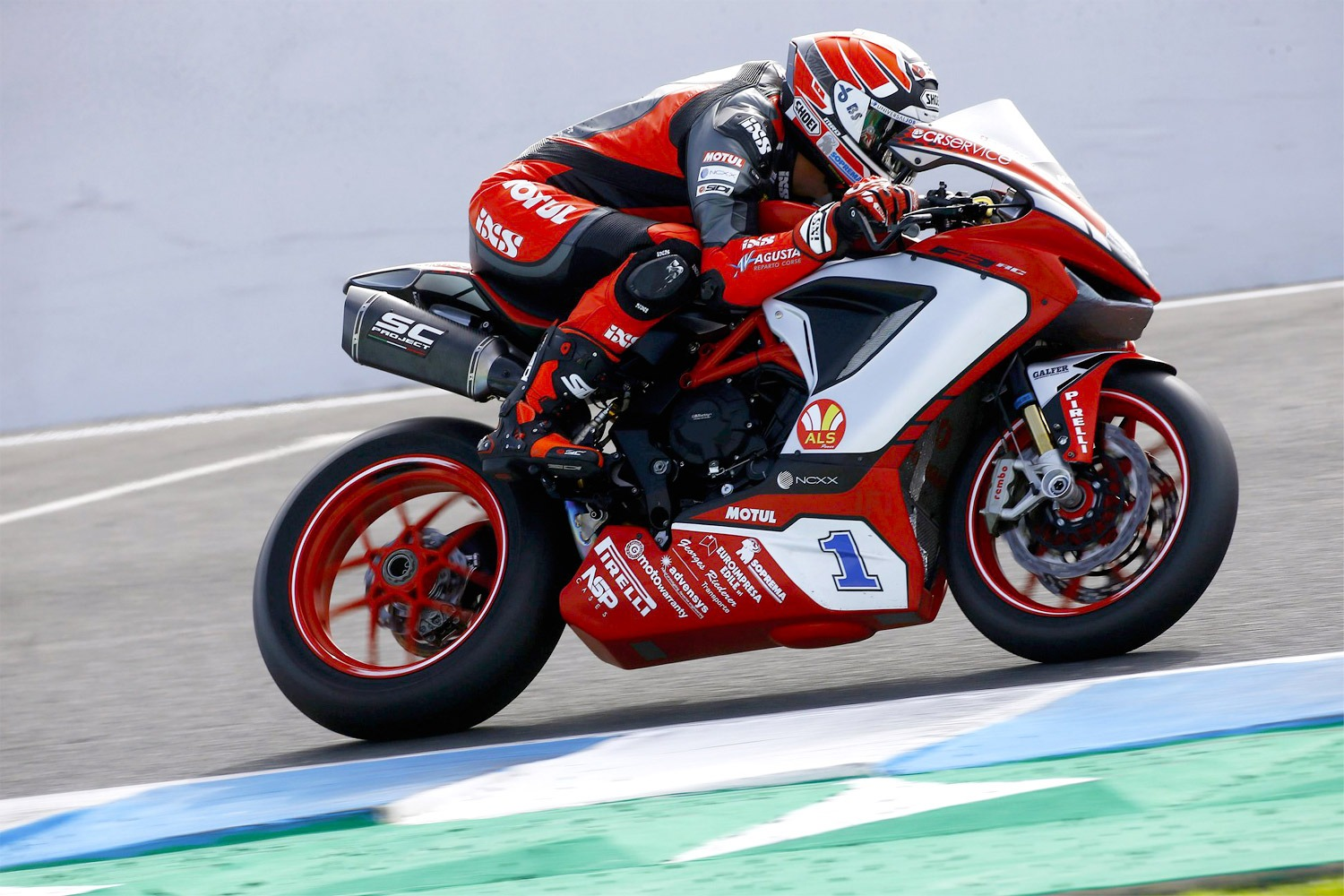 Phillip Island GP MV Agusta Reparto Corse 2020 F3 with SC1-R Sc-Project Exhaust Krummenacher