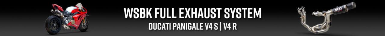 Banner WSBK full exhaust system Ducati Panigale V4 S R