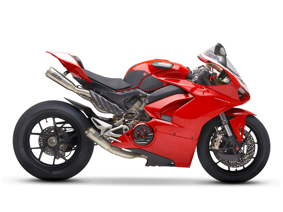 SC-Project Ducati Panigale V4 S right side transparent PNG