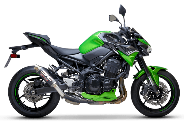 Kawasaki z900 gpm2 scarico exhaust echappemtn pot auspuff escape sc-project scproject