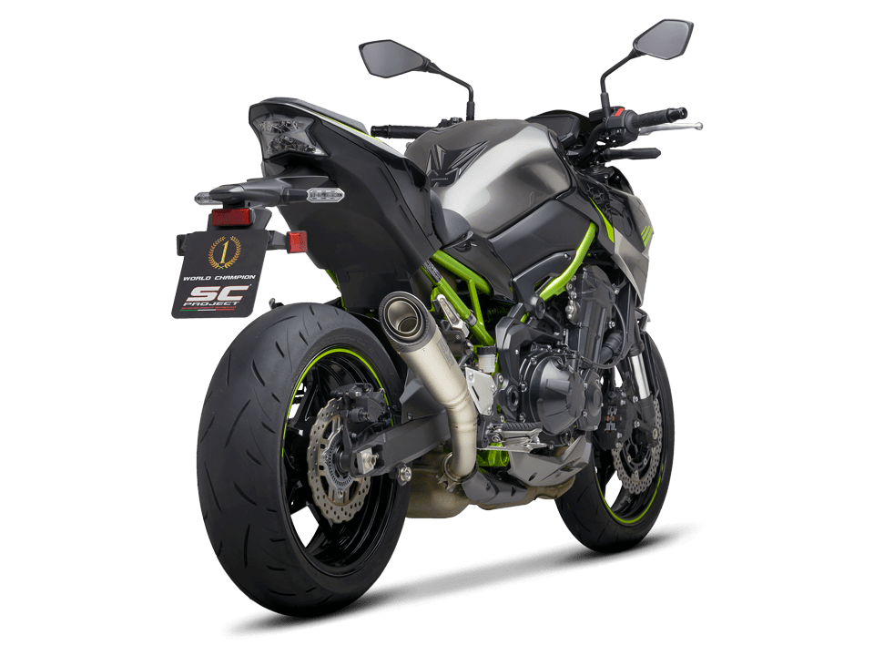 kawasaki z900 S1 Titan Auspuff Schalldämpfer sc-project zurück