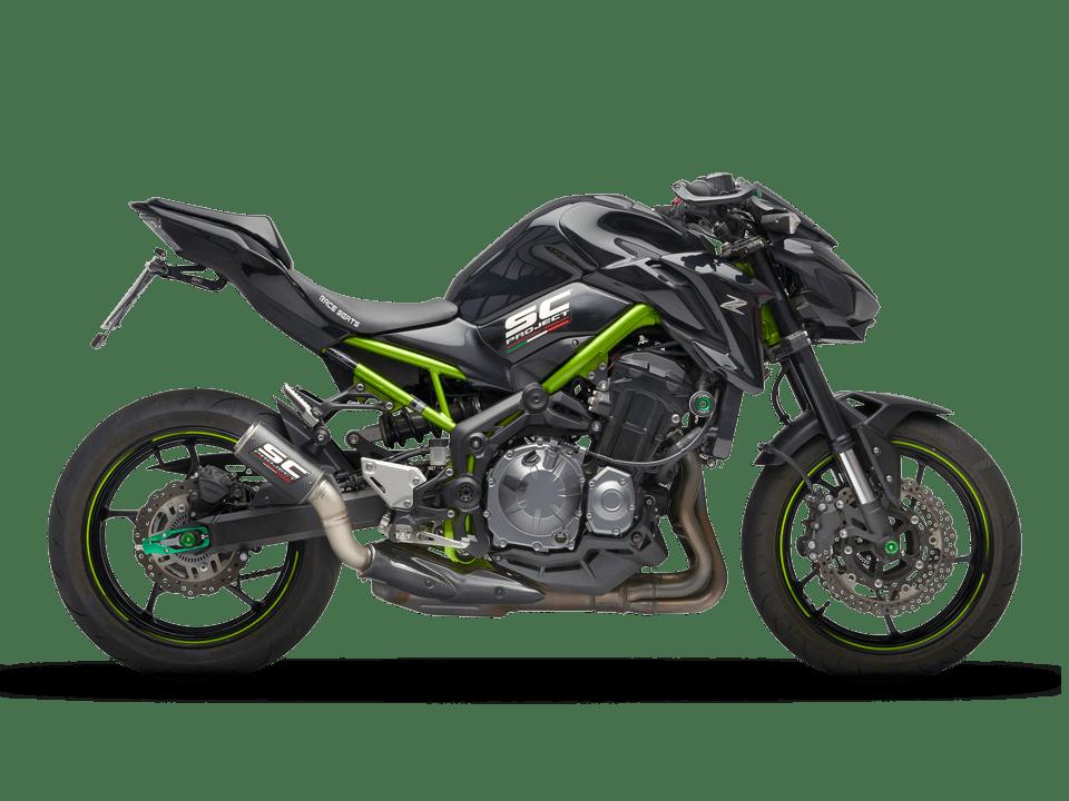 kawasaki z900 CRT exhaust scarico sc-project my 2017-2019