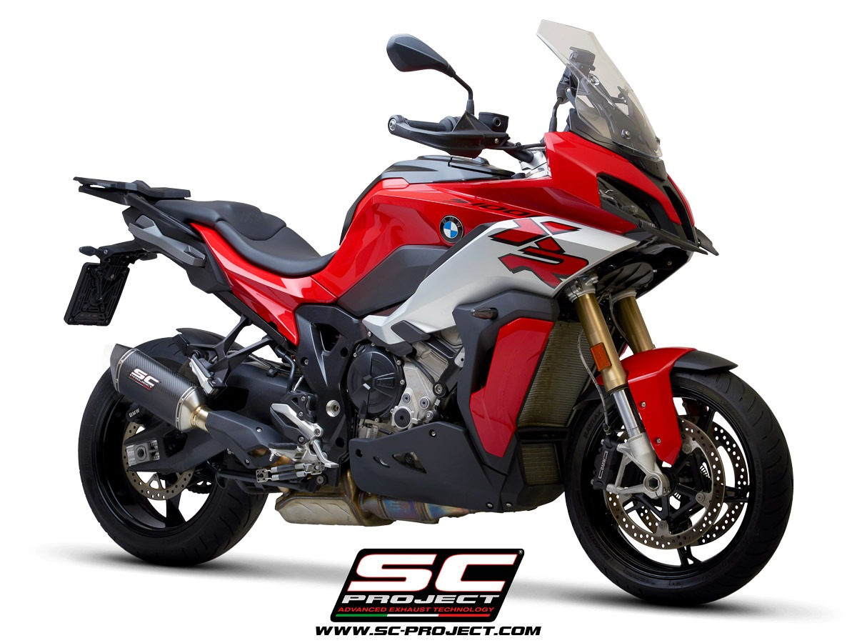 sc-project BMW S 1000 XR my2020 SC1-M carbon 3-4 front Homologation euro5