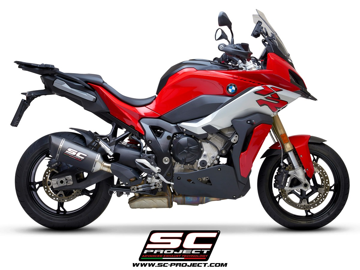 sc-project BMW S 1000 XR my2020 SC1-R Titanium right side Homologation euro5