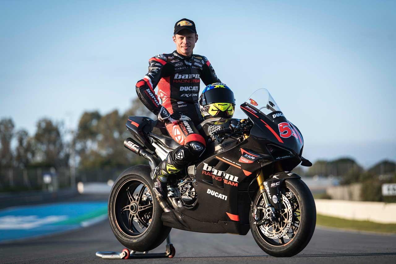 Tito Rabat 53 Barni racing team WorldSBK SC-Project Ducati Panigale V4