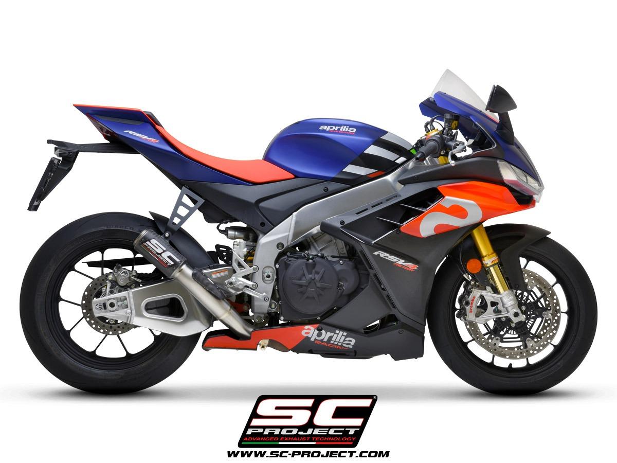 Aprilia RSV4 Factory 1100 CR-T Carbon racing side view