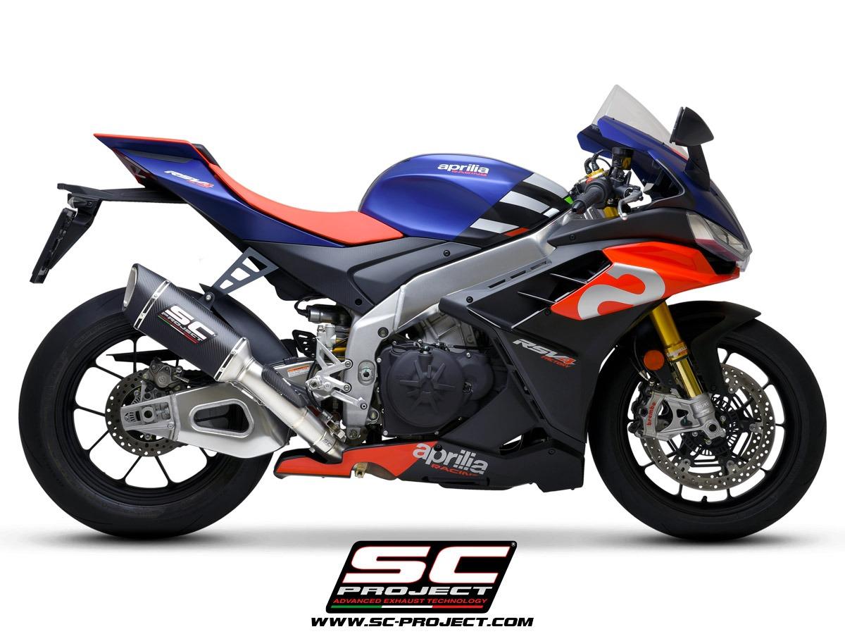 Aprilia RSV4 Factory 1100 SC1-R Carbon 250mm racing side view